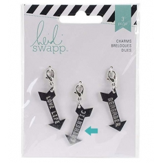 Heidi Swapp Metal Charm Arrow [Authentic] Wanderlust Collection