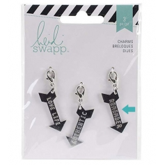 Heidi Swapp Metal Charm Arrow [Remember] Wanderlust Collection