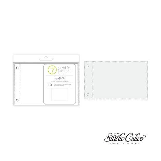 Studio Calico 4 x 6 inch Page Protectors Seven Paper Felix Collection