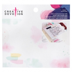 American Crafts Creative Devotion Scripture Vellum Paper Sheets Watercolor Palette