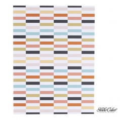 Studio Calico Paper Sheet 9 x 12 inch Multi-Colored Blocks