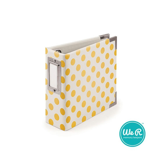 We R Memory Keepers 4 x 4 inch Album Made Easy Instagram Neon Yellow