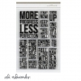 Ali Edwards One Little Word Less 4 x 6 inch Stamp Set