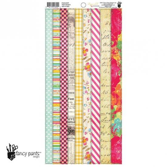 Fancy Pants Designs Tape Stickers Hopscotch Collection