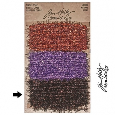 Tim Holtz Idea-ology Tinsel Twine Brown Autumn