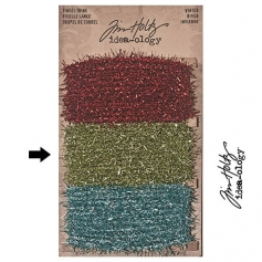 Tim Holtz Idea-ology Tinsel Twine Green Winter