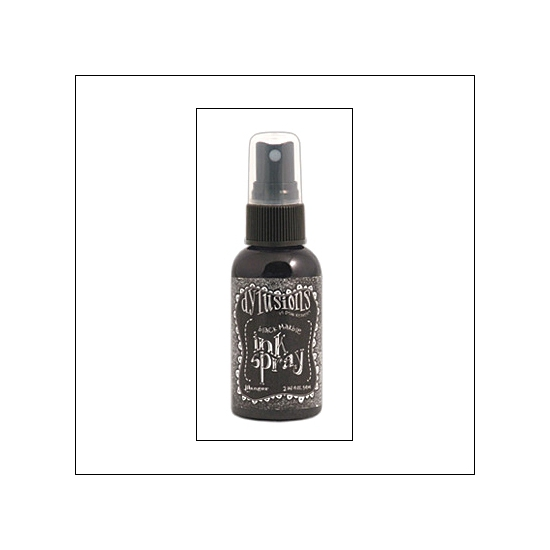 Ranger Ink Spray Black Marble Dylussions by Dyan Reaveley