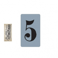 Sizzix Tim Holtz Alterations Texture Trades Embossing Folder Number Five