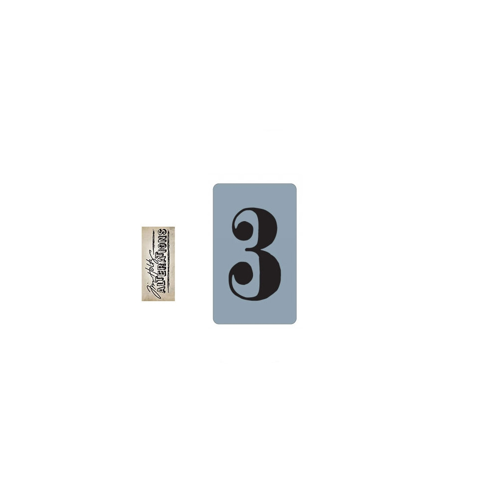 Sizzix Tim Holtz Alterations Texture Trades Embossing Folder Number Three