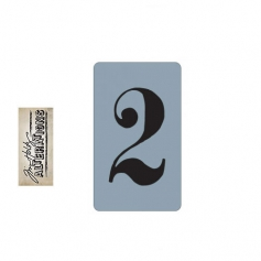 Sizzix Tim Holtz Alterations Texture Trades Embossing Folder Number Two