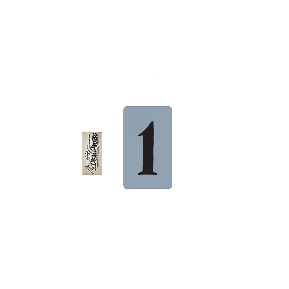 Sizzix Tim Holtz Alterations Texture Trades Embossing Folder Number One