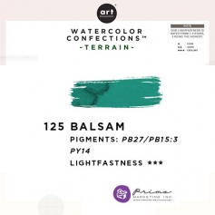 Prima Marketing Art Philosophy Refill Pan BALSAM 125 - Terrain Watercolor Confections