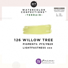Prima Marketing Art Philosophy Refill Pan WILLOW TREE 126 - Terrain Watercolor Confections