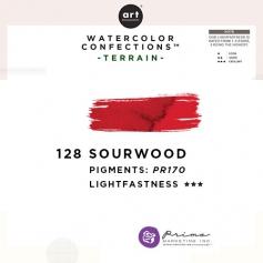 Prima Marketing Art Philosophy Refill Pan SOUR WOOD 128 - Terrain Watercolor Confections