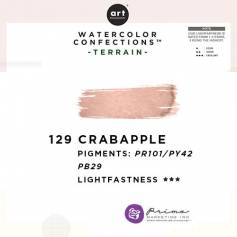 Prima Marketing Art Philosophy Refill Pan CRAB APPLE 129 - Terrain Watercolor Confections