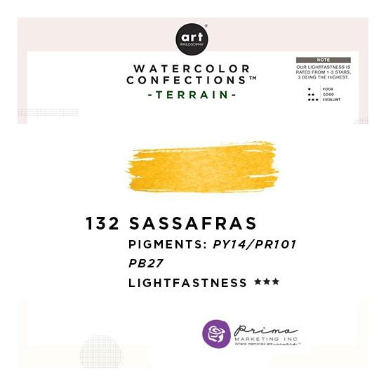 Prima Marketing Art Philosophy Refill Pan SASSAFRAS 132 - Terrain Watercolor Confections