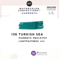 Prima Marketing Art Philosophy Refill Pan TURKISH SEA 136 - Currents Watercolor Confections
