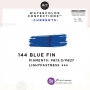 Prima Marketing Art Philosophy Refill Pan BLUE FIN 144 - Currents Watercolor Confections
