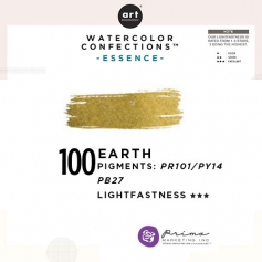Prima Marketing Art Philosophy Refill Pan EARTH 100 - Essence Watercolor Confections