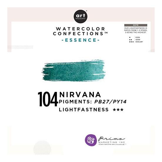 Prima Marketing Art Philosophy Refill Pan NIRVANA 104 - Essence Watercolor Confections