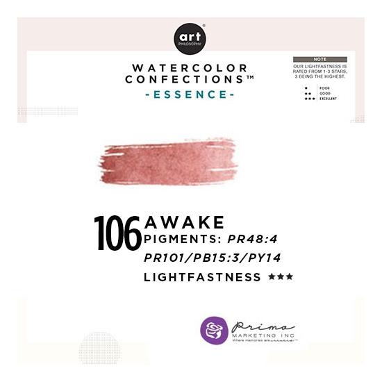 Prima Marketing Art Philosophy Refill Pan AWAKE 106 - Essence Watercolor Confections