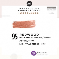 Prima Marketing Art Philosophy Refill Pan REDWOOD 95 - Woodlands Watercolor Confections