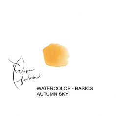 American Crafts Paper Fashion Watercolors Basics Refill Pan Autumn Sky