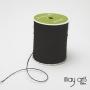 May Arts Jute Burlap String Cord Ribbon Black