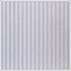 American Crafts Pow Glitter Paper Stripes Silver