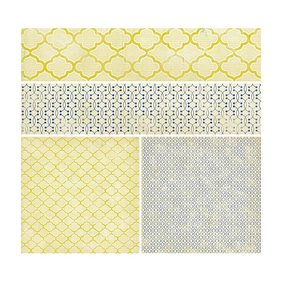 Crate Paper Paper Sheet La Mode On Trend Collection
