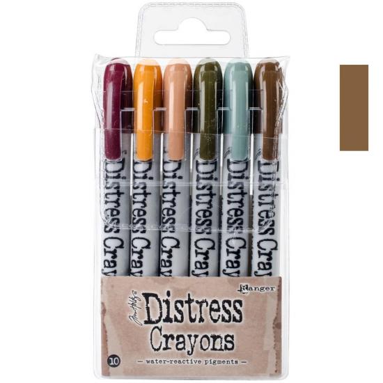Ranger Tim Holtz set no. 10 Distress Crayon Gathered Twigs