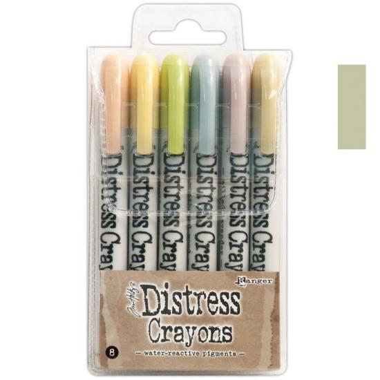 Ranger Tim Holtz set no. 8 Distress Crayon Old Paper