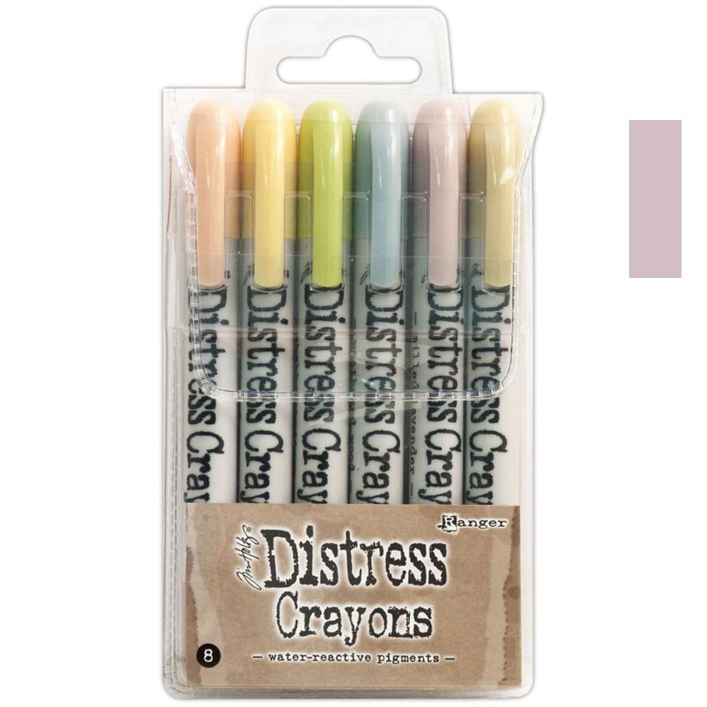 Ranger Tim Holtz set no. 8 Distress Crayon Milled Lavender