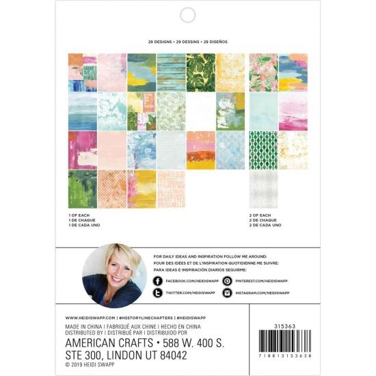 Heidi Swapp Paper Pad 6 x 8...