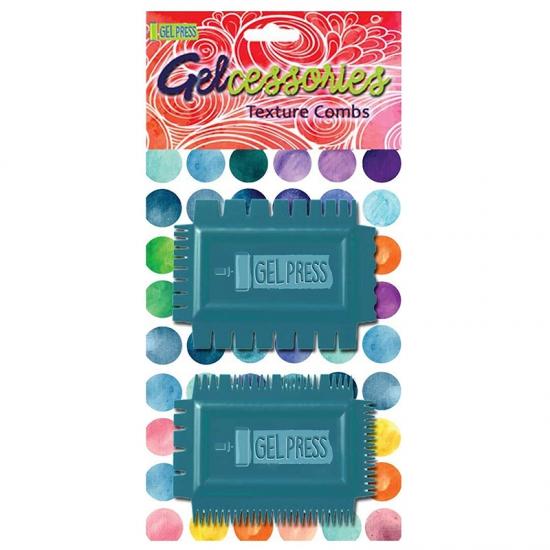 Gel Press Texture Combs