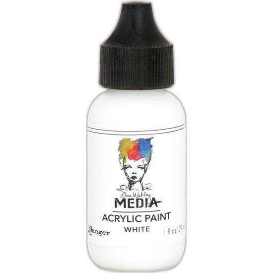 Ranger Dina Wakley Media Acrylic Paint White 1oz