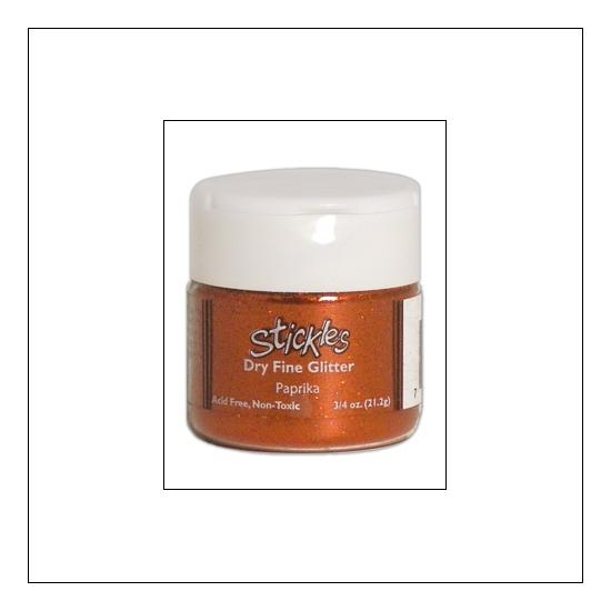 Ranger Stickles Dry Fine Glitter Paprika