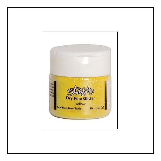 Ranger Stickles Dry Fine Glitter Yellow