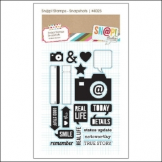 Simple Stories Clear Stamps Snap Snapshots Snap Studio Collection