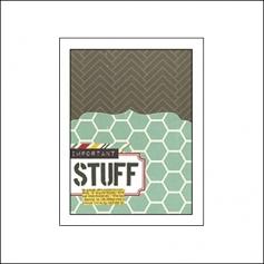 Simple Stories Memorabilia Pocket 3x4 24 Seven Collection