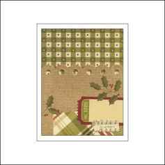 Simple Stories Memorabilia Pocket 3x4 Christmas
