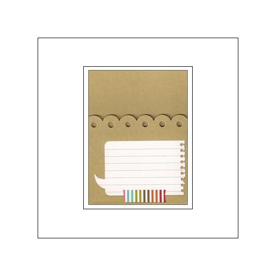 Simple Stories Memorabilia Pocket 3x4 So Random Snap Collection