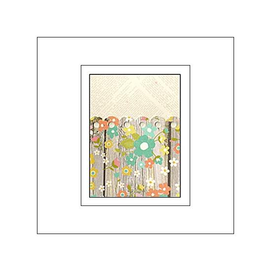 Simple Stories Memorabilia Pocket 3x4 Vintage Bliss Collection