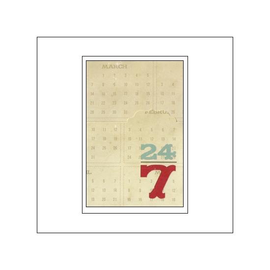Simple Stories Memorabilia Pocket 4x6 24 Seven Collection
