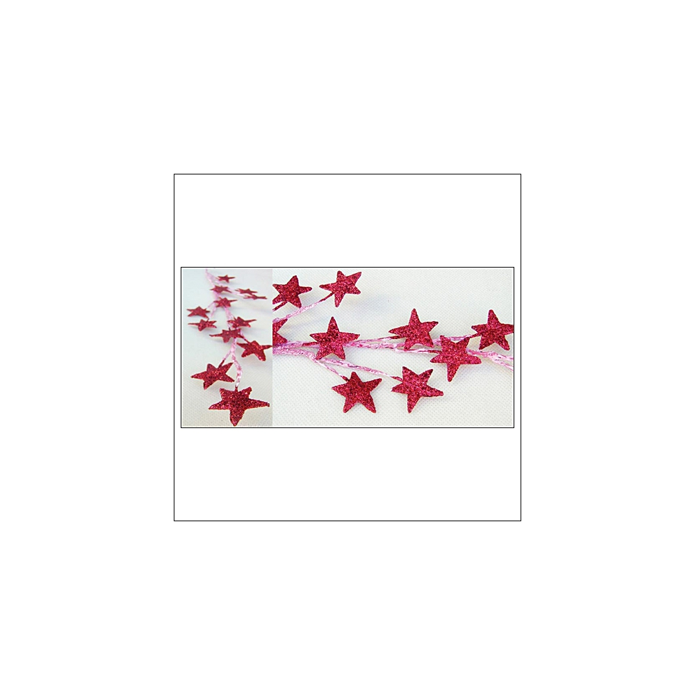 Prima Marketing Galaxy Stars Red