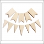 Studio Calico Wood Veneer Flags and Pennants Classic Calico Vol 1 Collection