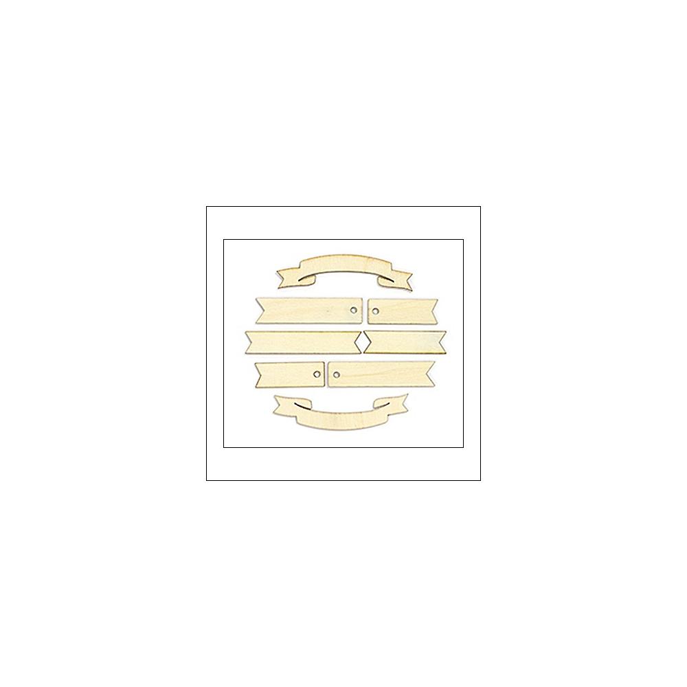 Studio Calico Wood Veneer Flags Classic Calico Vol 3 Collection