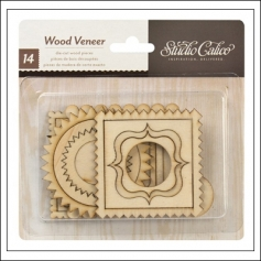 Studio Calico Wood Veneer Frames Take Note Collection
