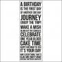 Kaisercraft Clear Stamp Birthday
