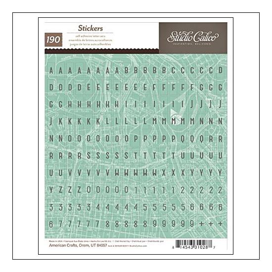 Studio Calico Mini Alphabet...